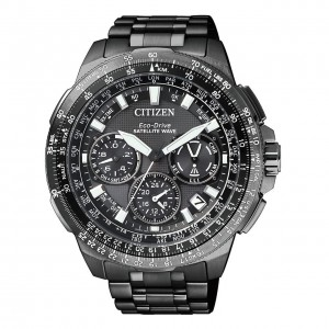 Citizen Satellite Wave CC9025-51E Super Titanium Eco Drive Herren Chrono