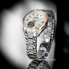 Bulova Classic 98P170 Damen Automatik Perlmuttzifferblatt mit Diamanten