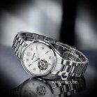 Bulova Classic 96P181 Damen Automatik Perlmuttzifferblatt mit Diamanten