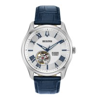 Bulova Classic 96A206 Mens Automatic with 60 Hours of Powerreserve