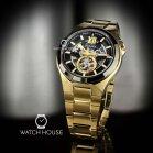 Bulova Classic 98A178 XL Mens Automatic Wristwatch with...
