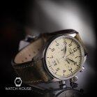 Iron Annie Flight Control 5186-5 Chronograph Mens Pilotwatch