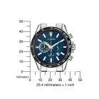 Citizen Mens Watch CA4444-82L Eco-Drive Titanium in blue