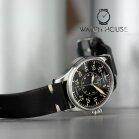 Iron Annie Flight Control Automatic 5156-2 Mens Pilot Wristwatch