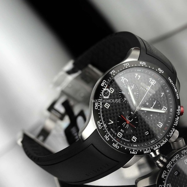 Zeppelin 7294-4 Limited Edition Alain Robert Night Cruise Carbon Chrono