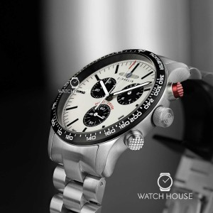 Zeppelin Night Cruise Herren Chronograph 7296M-1 With Shining Dial in Darkness