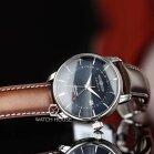 Zeppelin Atlantic 8442-3 Mens Wristwatch With 2nd Timezone