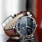 Zeppelin Atlantic 8442-3 Herren Armbanduhr mit zweite Zeitzone