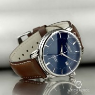 Zeppelin Atlantic 8452-3 ETA Sellita 2824-2 Dark Blue Mens Automatic Wristwatch