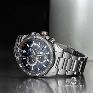 Citizen Promaster Land CB5034-82L Eco Drive 4 Zonen Funk...