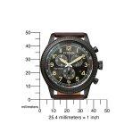 Citizen Eco Drive Sport Mens Chronograph AT2465-18E Solar Wristwatch