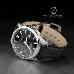Citizen Elegant CB0190-17E Weltzeit Funkuhr Eco Drive Solar Armbanduhr