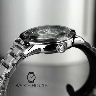 Bulova Elegant Mens Automatik 96A119 Wristwatch