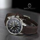 Bulova Classic 96A245 GMT Mens Automatik Pilot Watch