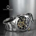 Bulova Classic 98A224 Elegant and Massive Mens Automatik Wristwatch