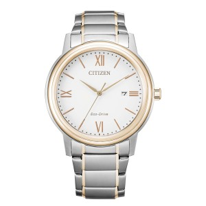 Citizen Sports AW1676-86A Eco Drive Solar Klassik in BiColor