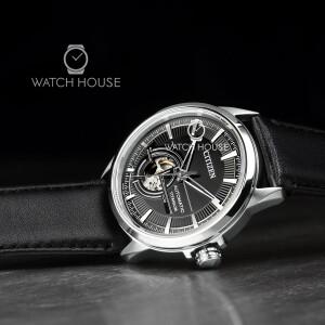 Citizen Automatik NH9120-11E Mens Super Titanium Wristwatch