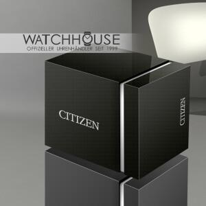 Citizen Eco Drive Lady Perlmutt EM0813-86Y Solaruhr mit Safirglas