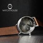 Bauhaus 2162-2 Herren Armbanduhr Automatik mit Day Date