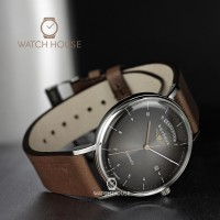 Bauhaus 2162-2 Mens Wristwatch Automatic With Day Date