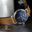 Bauhaus 2130-3 Quartz Vintage Strap Mens Wristwatch