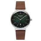 Bauhaus 2140-4 Quartz Mens Wristwatch Classic Style