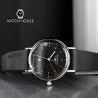 Bauhaus 2140-2 Quartz Reduced Design Mens Wristwatch Classic Style