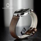 Bauhaus 2142-2 Quartz Mens Wristwatch With Vintage Style...