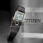 Citizen L-Elegance EG7068-16D Diamond Eco Drive Solar Womens Wristwatch