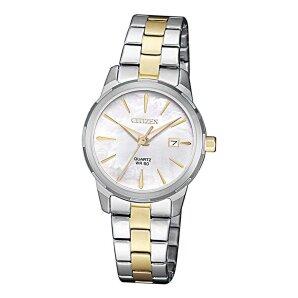 Citizen Basic Lady EU6074-51D Quarz BiColor Damen Armbanduhr
