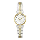 Bulova 98P202 Regatta Elegant Diamond Watch With MOP Dial