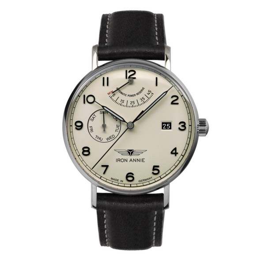 Iron Annie Amazonas Automatik 5960-5 Herren Armbanduhr Vintage Stil