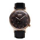 Iron Annie Amazonas 5936-2 Elegant Flacher Zeitmesser für Herren