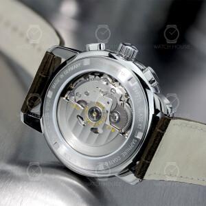 Zeppelin Atlantic 8422-5 Seiko NE86 Mens Automatic Chronograph