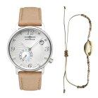 Zeppelin Luna 7631-4 Womens Timekeeper Shell Design Dial...