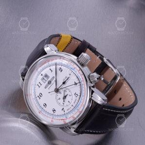 Zeppelin LZ126 Los Angeles 8644-1 GMT Uhr Klassisch Elegant mit Zweiter Zeitzone