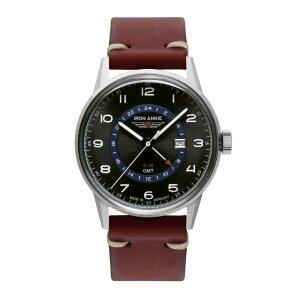 Iron Annie G38 5342-4 Herren Vintage Armbanduhr mit zweiter Zeitzone