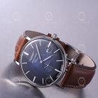 Iron Annie Classic 5938-3 Stilvolle Herren Armbanduhr Bauhaus Stil