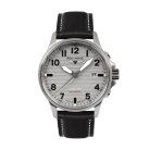 Iron Annie  DAQUI 1932 Wellblech Design Herren Automatik Armbanduhr Safirglas