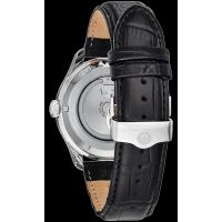 Bulova Wilton 96C141 automatic watch with power reserve indicator
