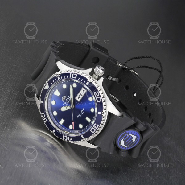 Orient diver watch with automatic movement FAA02008D9 dark blue