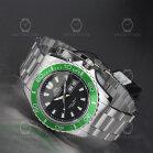 Orient Mako XL Automatic Diver Watch FEM75003B9 Black/Green