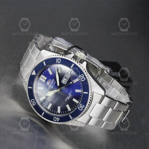 Orient Mako 3 Stählerne Automatikuhr RA-AA0009L19B blau
