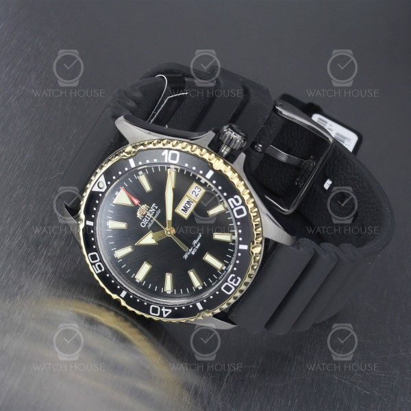 Orient Mako 3 Automatic Diver Watch RA-AA0005B19B with Black Case