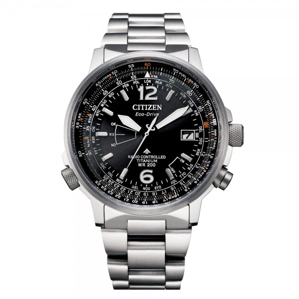 Citizen CB0230-81E - Highly functional Eco Drive radio controlled watch