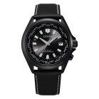 Citizen CB0225-14 vier Zonen Weltzeit Ecodrive Uhr in schwarz