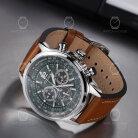 Citizen CA4470-15X Herren Pilot Chronograph aus Edelstahl