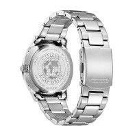 Citizen BM7400-71L flat mens watch in a touch of blue in stainless steel