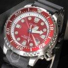 Citizen ISO zertifizierte Taucheruhr BN0159-15X in rassigem Rot
