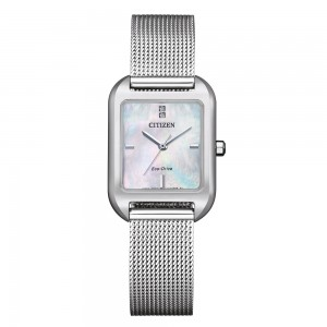 Citizen mother-of-pearl dial ladies watch with Eco-Drive...